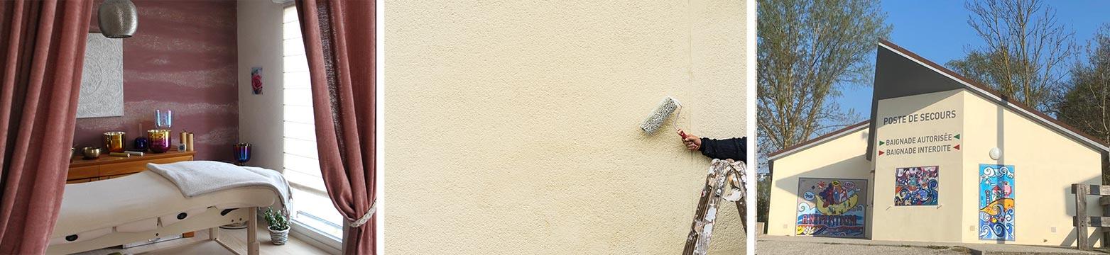 Enduit minéral avec Hittier Peinture près de Strasbourg